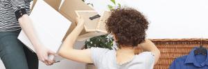 Girls-Moving-packing
